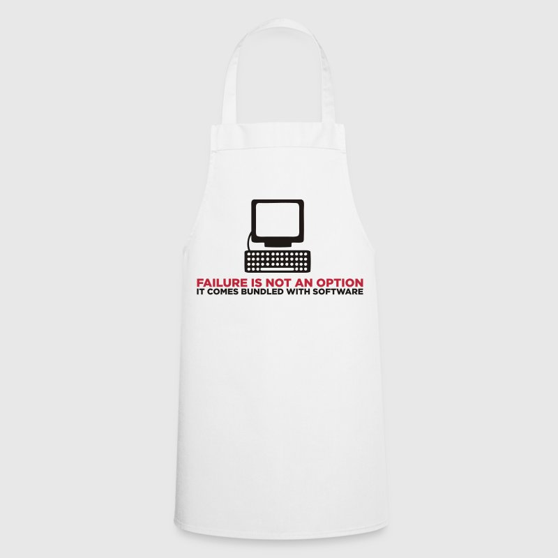 Failure is not an option. It s a feature!  Aprons - Cooking Apron