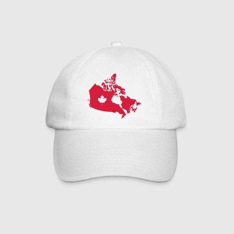 Kanada, Canada Map Caps & Hats - Baseball Cap