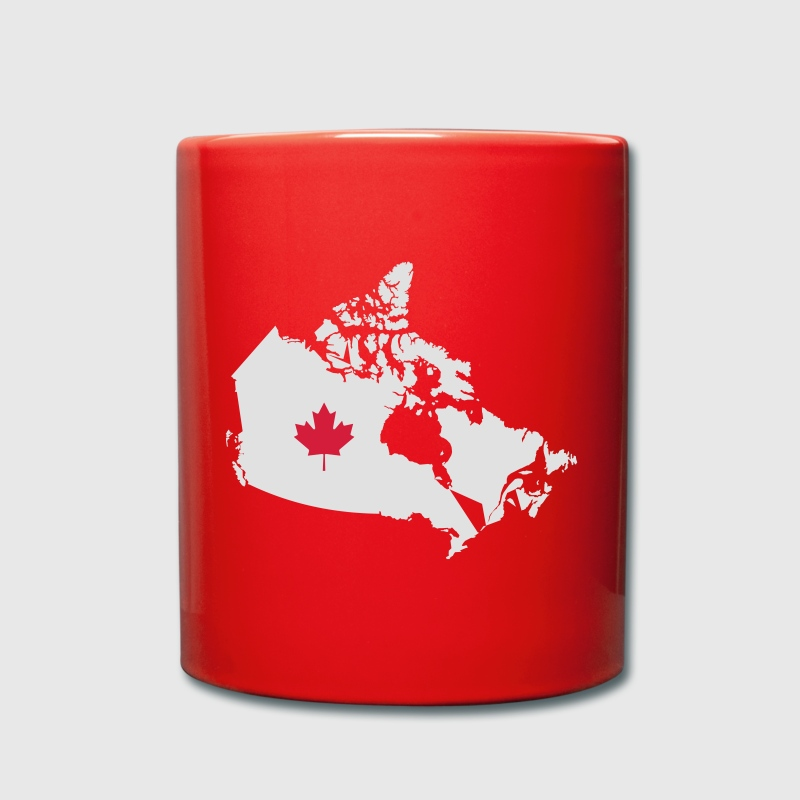 Kanada, Canada Map Mugs & Drinkware - Full Colour Mug