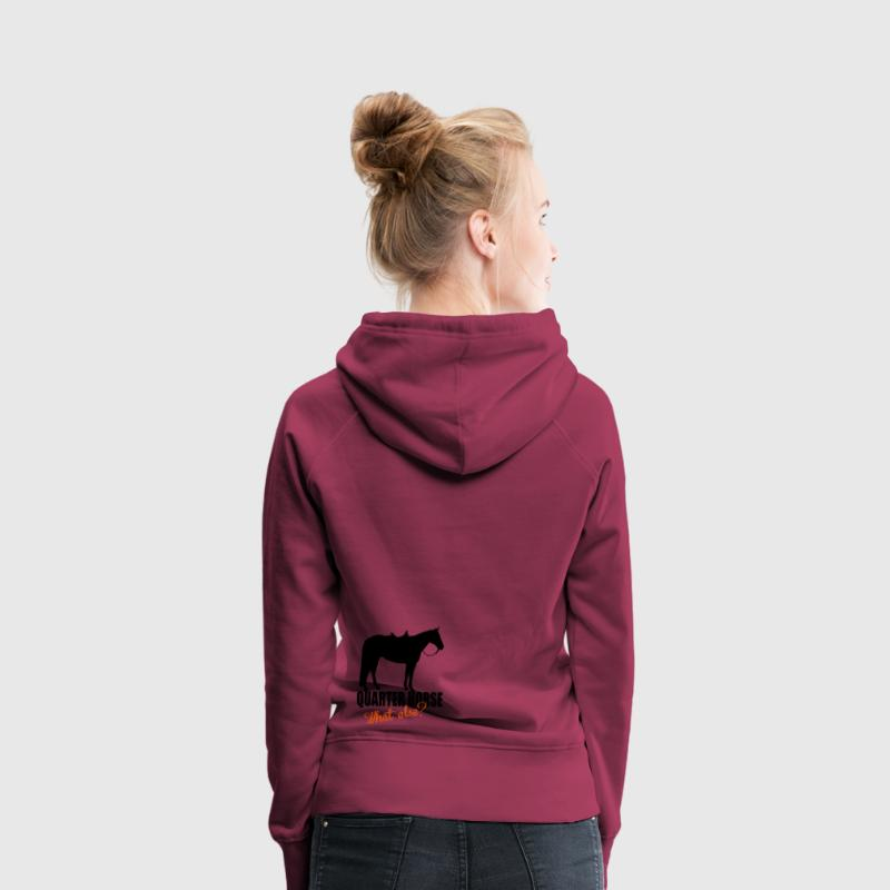 Quarter Horse -- What else? Sweat-shirts - Sweat-shirt à capuche Premium pour femmes