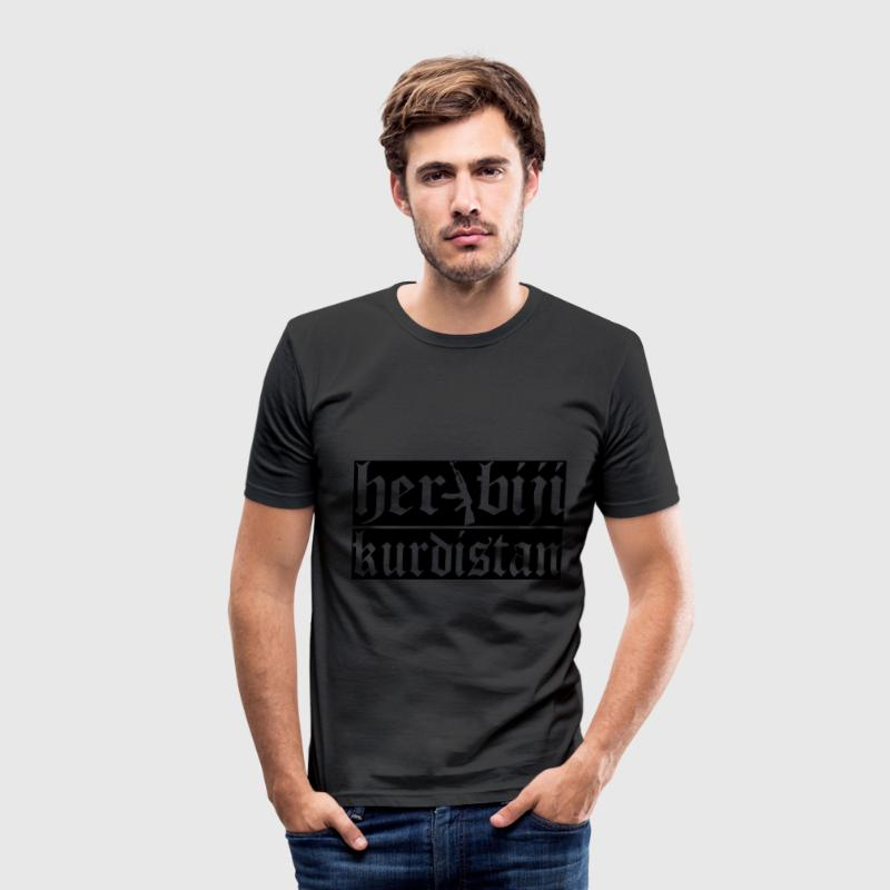 kurdistan - Männer Slim Fit T-Shirt