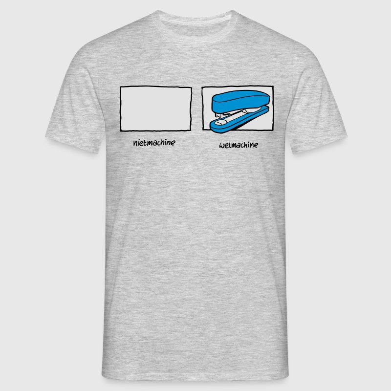 Nietmachine / Welmachine - Mannen T-shirt