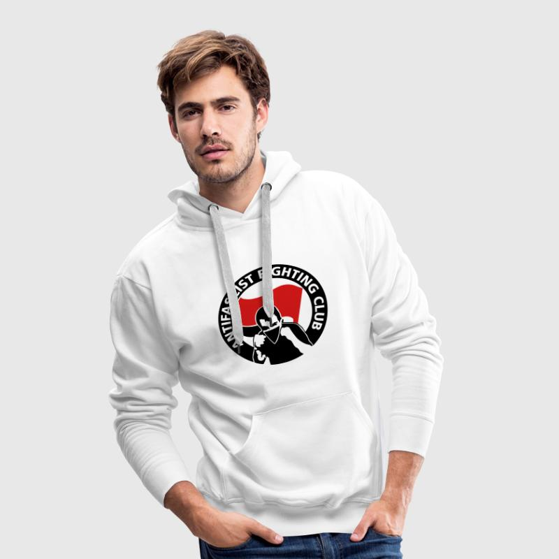 Antifascist Fighting Club Pullover & Hoodies - Männer Premium Hoodie