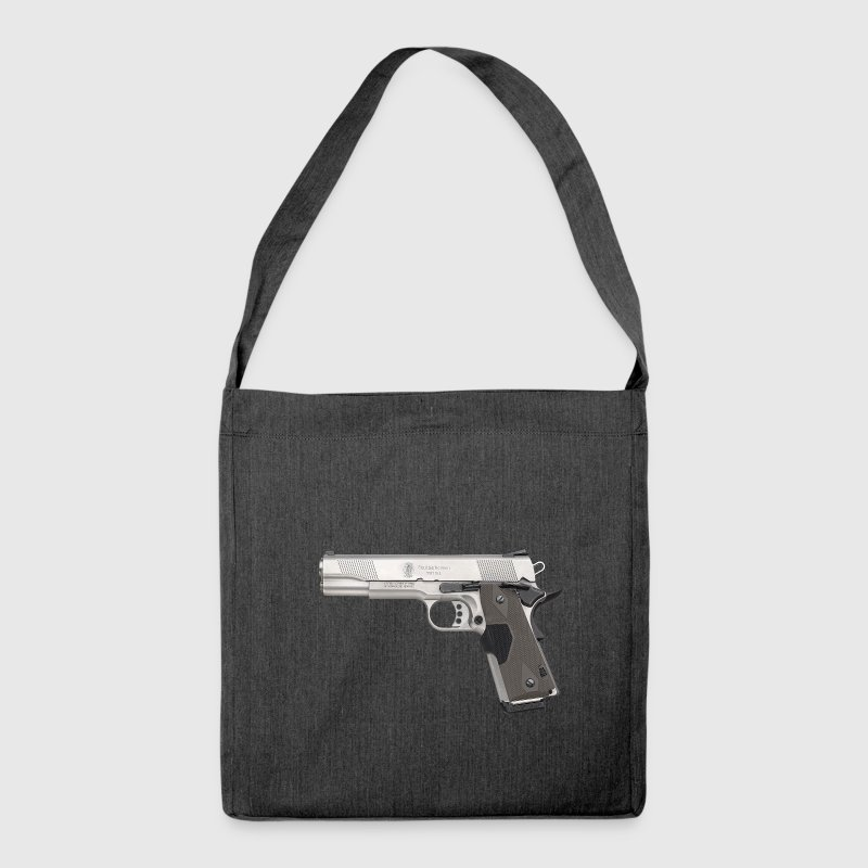 Gangster Smith & Wesson de calibre 9mm conception  Sacs et sacs à dos - Sac bandoulière 100 % recyclé
