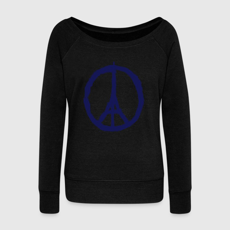 PRAY FOR PARIS - PEACE FOR PARIS Pullover & Hoodies - Frauen Pullover mit U-Boot-Ausschnitt von Bella