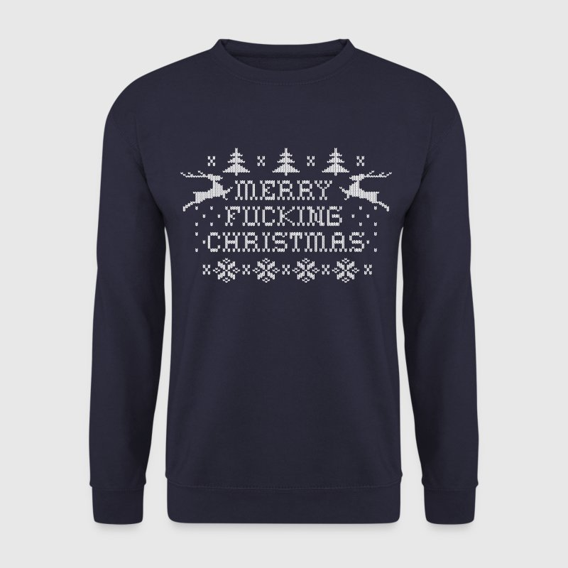 Merry Fucking Christmas Hoodies & Sweatshirts - Men's Sweatshirt