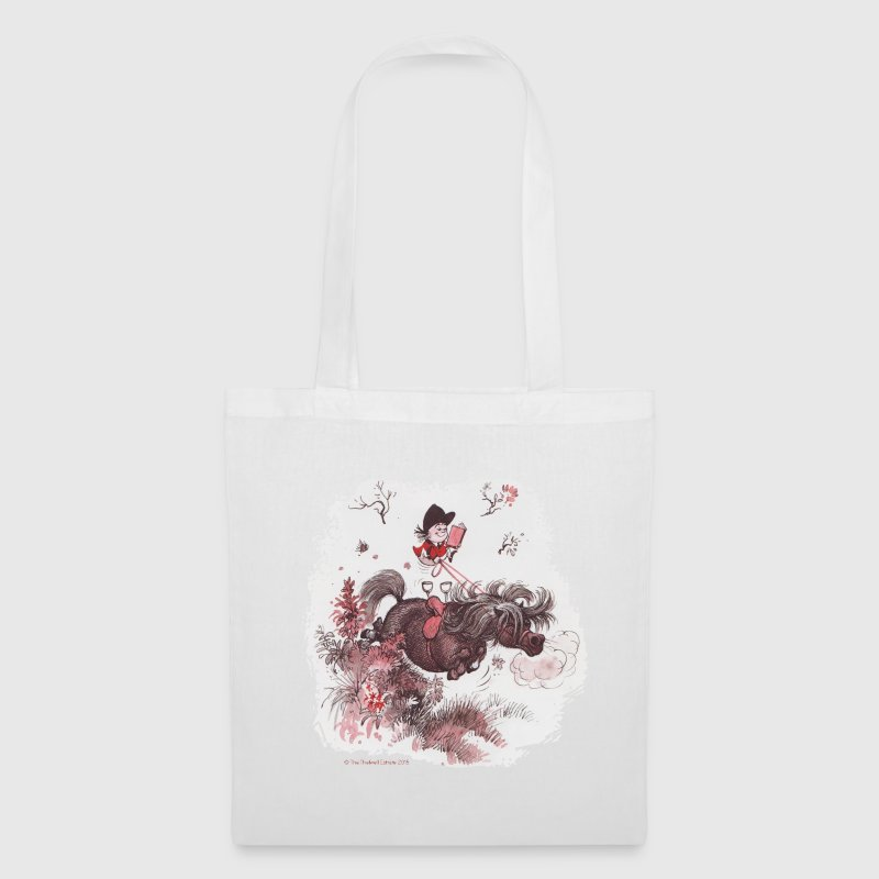 Thelwell - Pony outside in nature Bags & Backpacks - Tote Bag