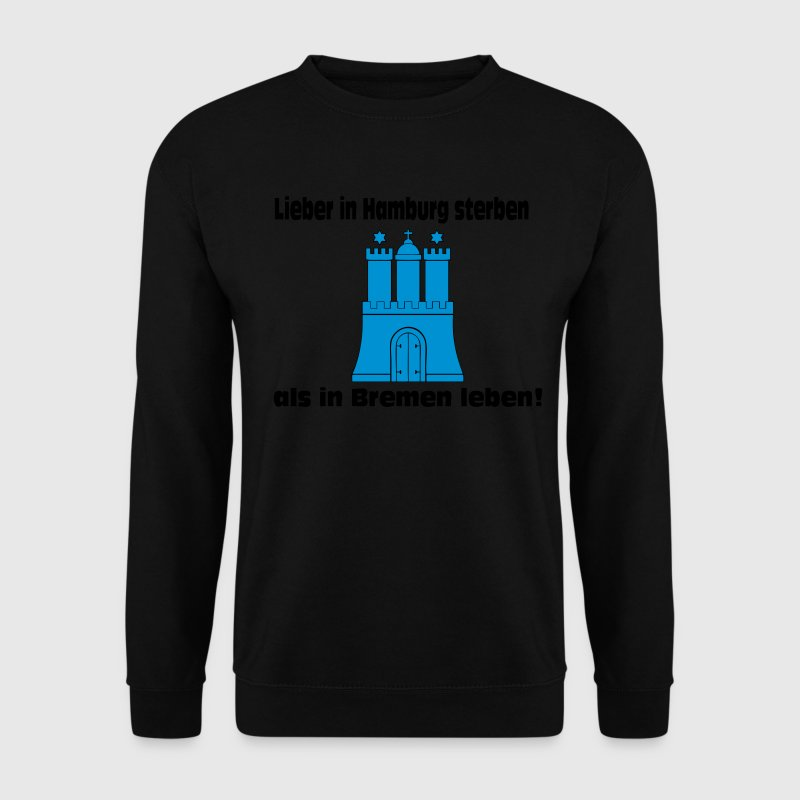 Anti Bremen ,Hamburg ,Ultras, Fussball, Sweat - Männer Pullover