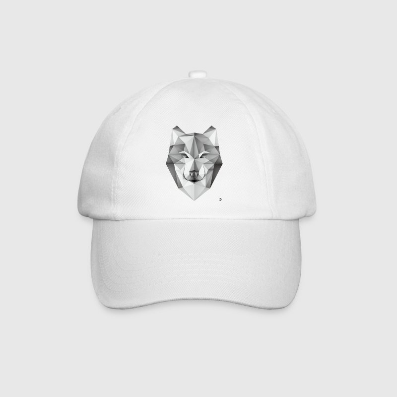 AD Geometric Wolf Caps & Hats - Baseball Cap
