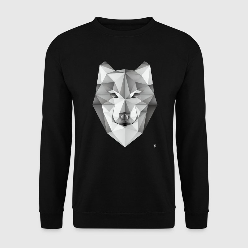AD Geometric Wolf Pullover & Hoodies - Männer Pullover