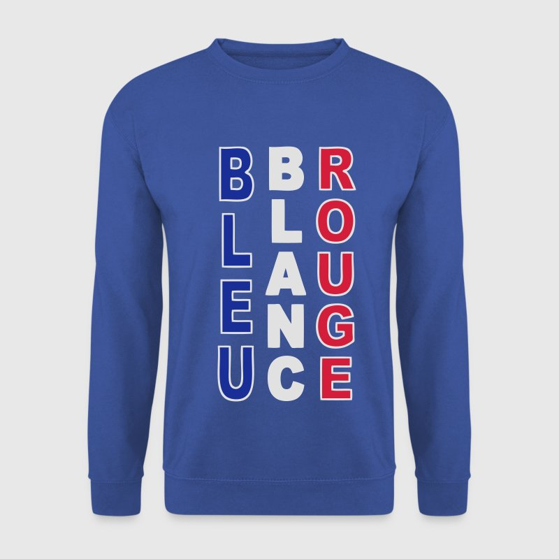 France bleu blanc rouge Sweat-shirts - Sweat-shirt Homme