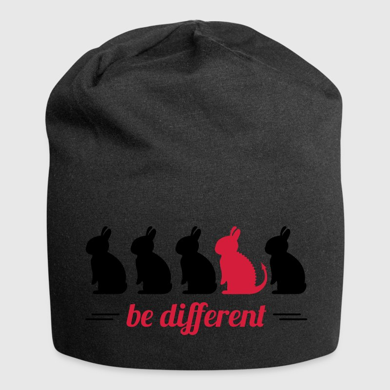 be different lapins Hare Easter bunny bunny Casquettes et bonnets - Bonnet en jersey