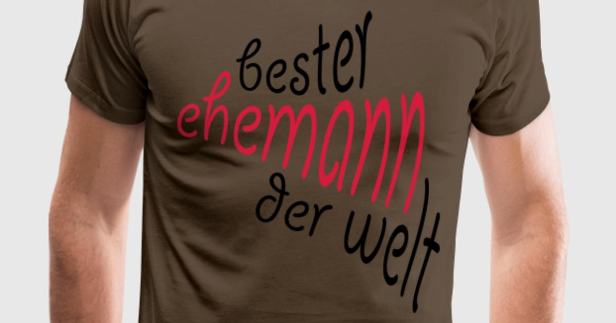 geschenk f r den besten ehemann der welt t shirt spreadshirt. Black Bedroom Furniture Sets. Home Design Ideas