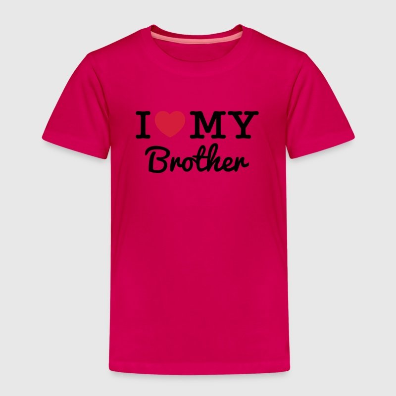I Love My Brother - T-shirt Premium Enfant