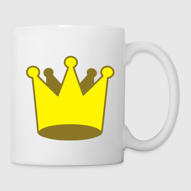 Krone Crown 3D Comic - Tasse