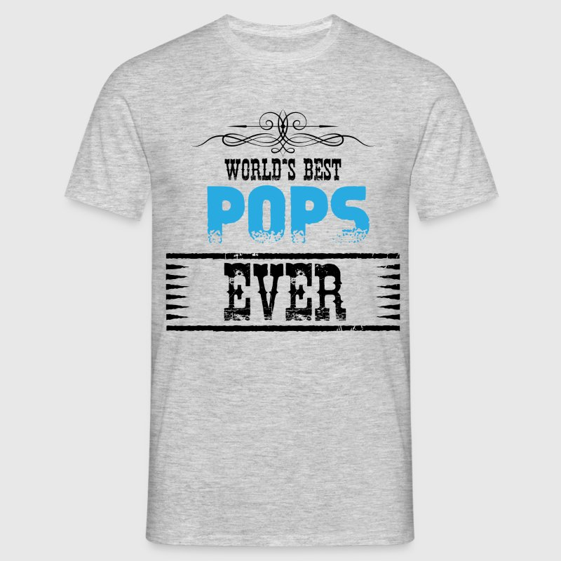 worlds best pops ever T-Shirts - Men's T-Shirt