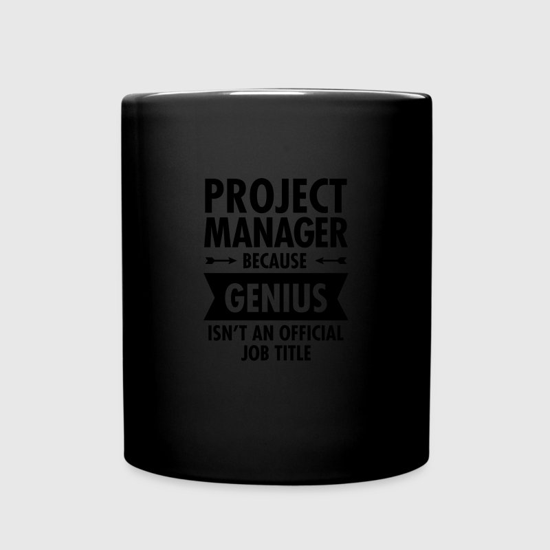 Project Manager - Genius Mugs & Drinkware - Full Colour Mug