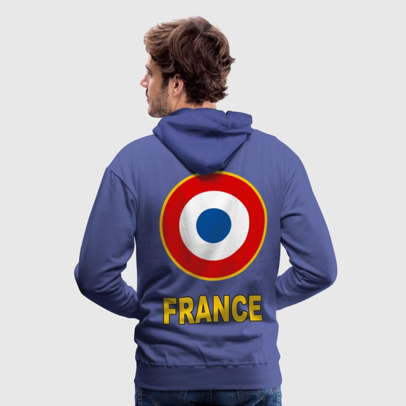 Cocarde France Sweat-shirts - Sweat-shirt à capuche Premium pour hommes