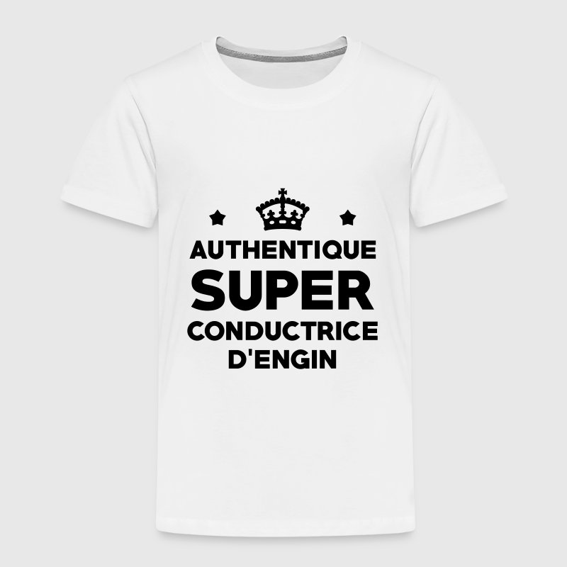 Conducteur d'engin / BTP / Travaux / Construction Tee shirts - T-shirt Premium Enfant