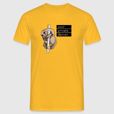 Faultier Tänzer / Sloth Dancer - Männer T-Shirt