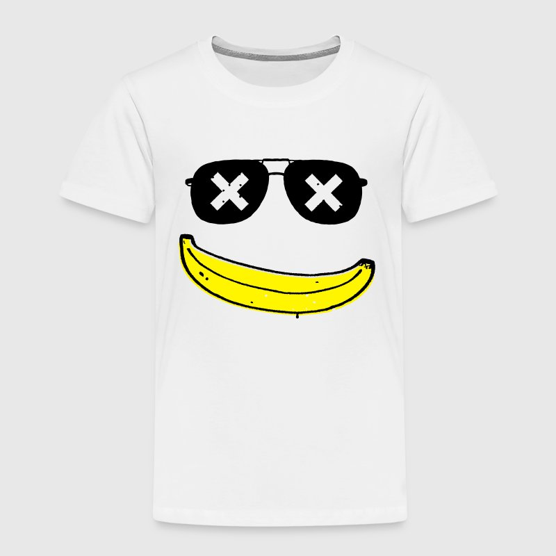 Lustige Grunge Comic Coole Smiley banane graffiti T-Shirts - Kinder Premium T-Shirt