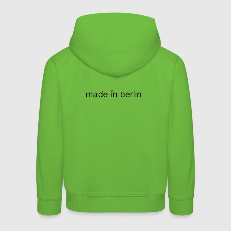 made in berlin Pullover & Hoodies - Kinder Premium Hoodie