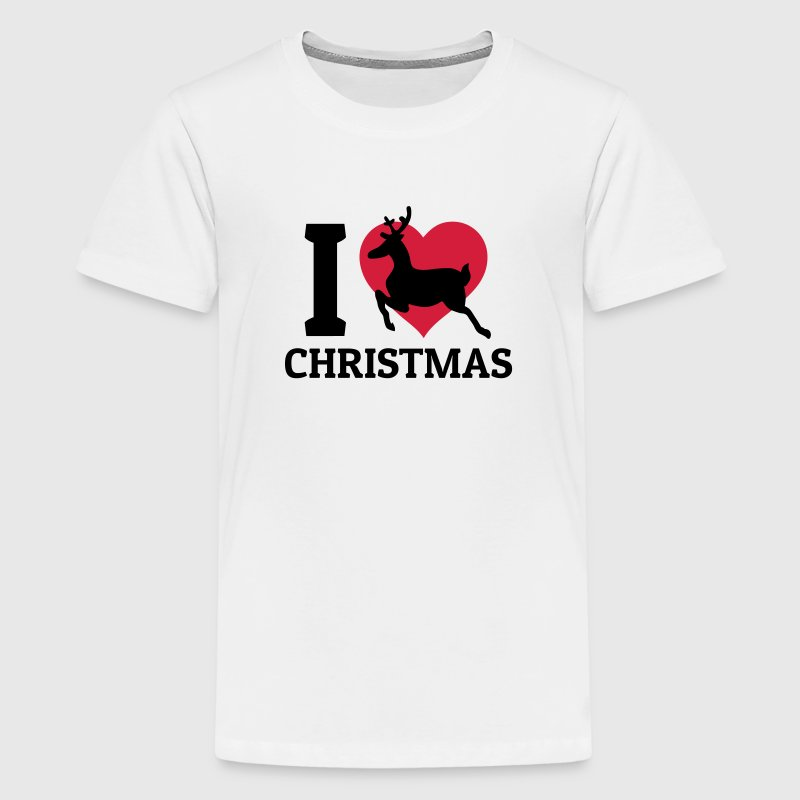 I love christmas T-Shirts - Teenager Premium T-Shirt
