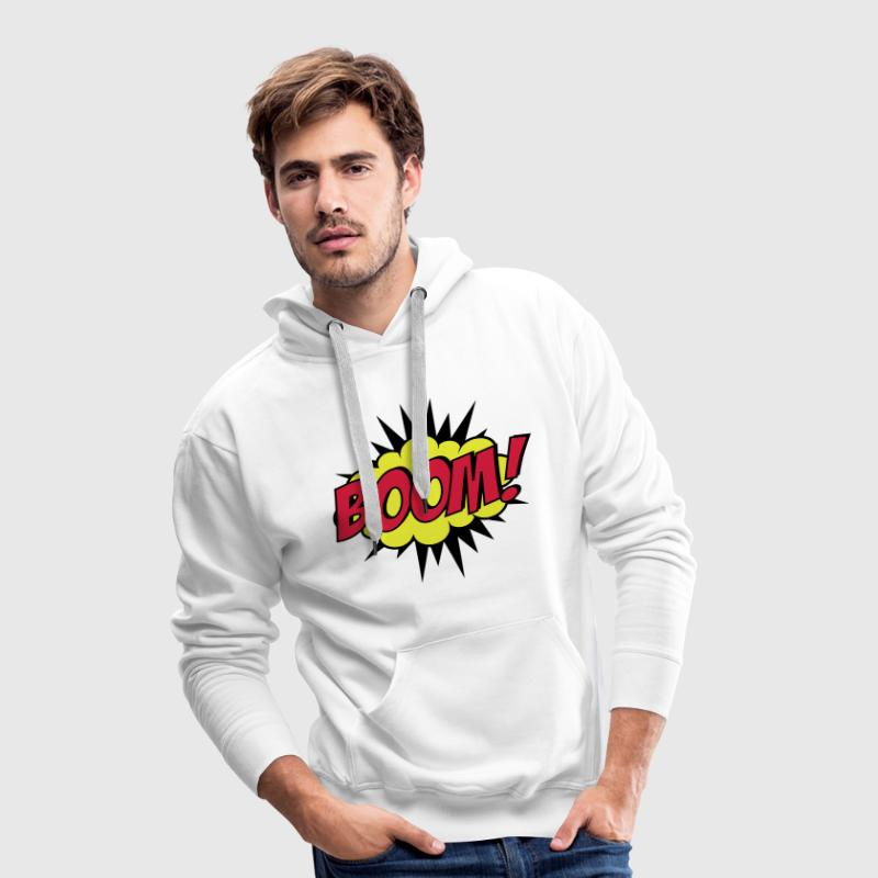 Boom! Sweat-shirts - Sweat-shirt à capuche Premium pour hommes
