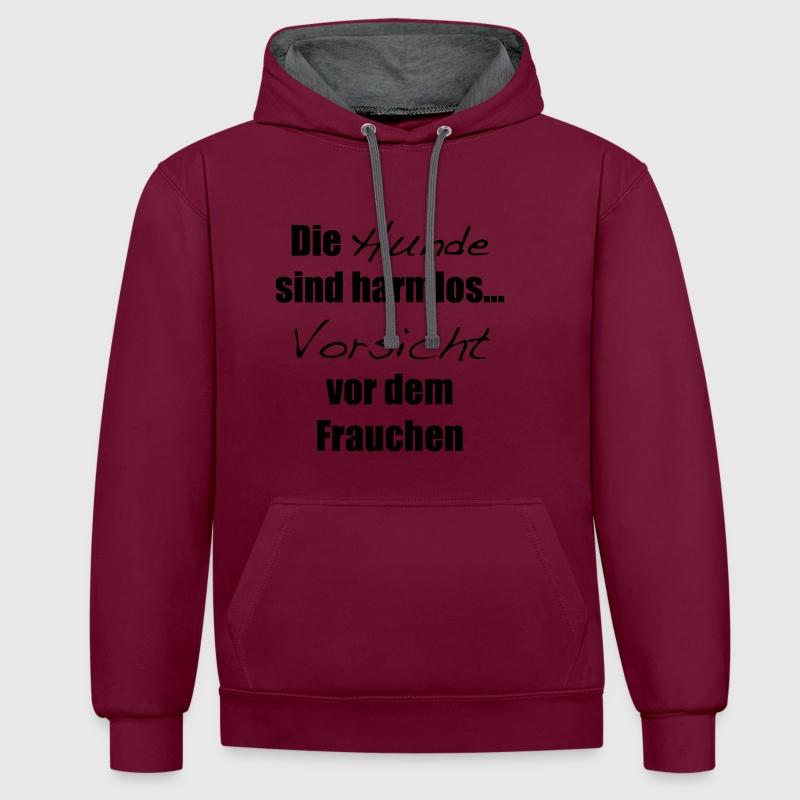 hunde frauchen hoodie spreadshirt. Black Bedroom Furniture Sets. Home Design Ideas
