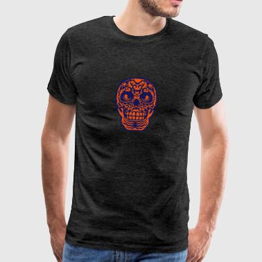 Mexican skull tattoo 0123 Sports wear - Men's Premium T-Shirt