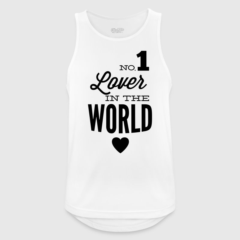Best lovers of the world Sports wear - Men's Breathable Tank Top