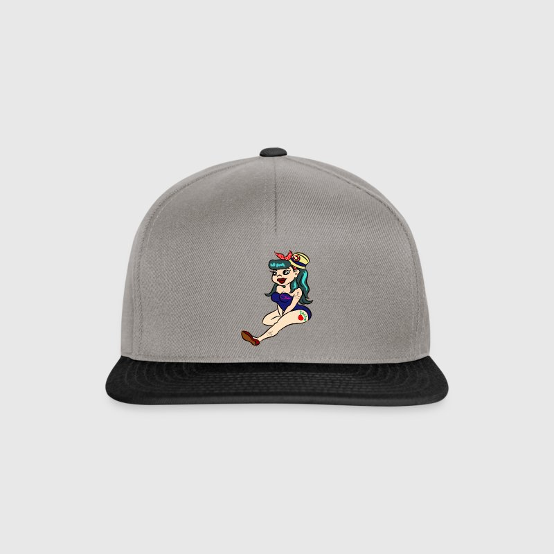 Rockabilly Strand Pin Up  Caps & Mützen - Snapback Cap