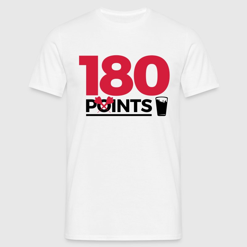 180pointspintspounds2 T-Shirts - Men's T-Shirt