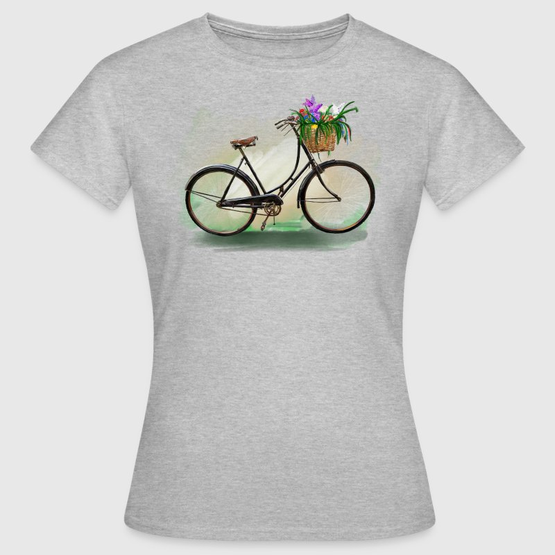Bicycle with flowers T-Shirts - Women's T-Shirt