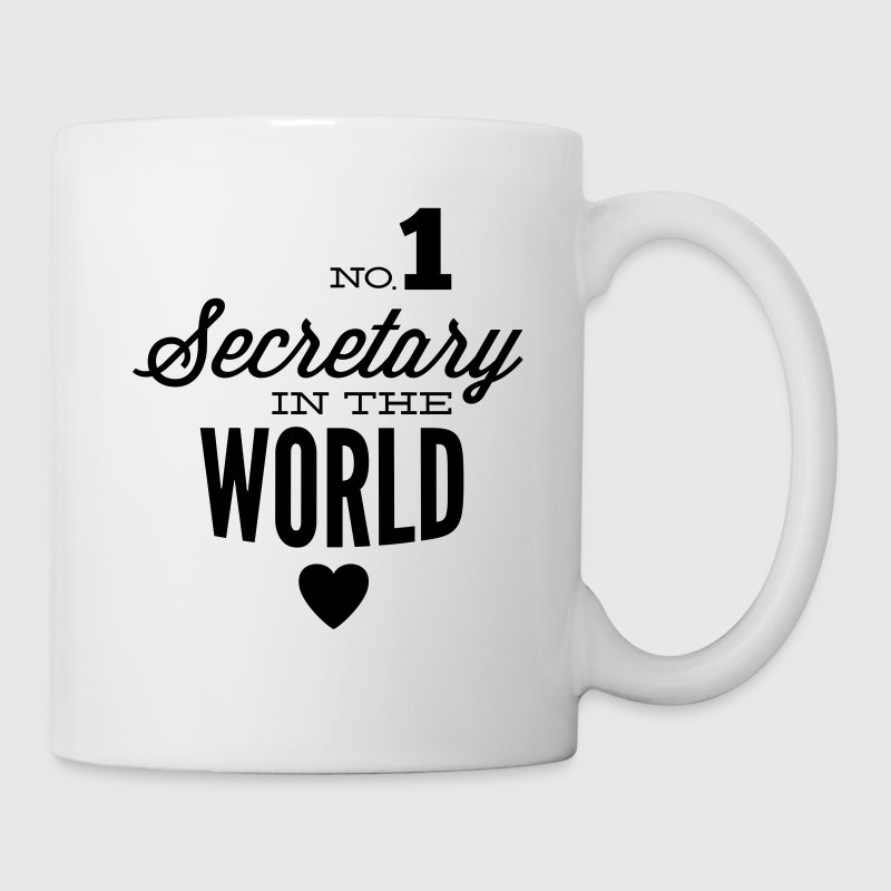Best Secretary of the world Mugs & Drinkware - Mug