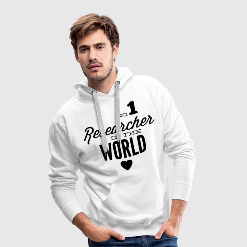 The world's best scientists Hoodies & Sweatshirts - Men's Premium Hoodie