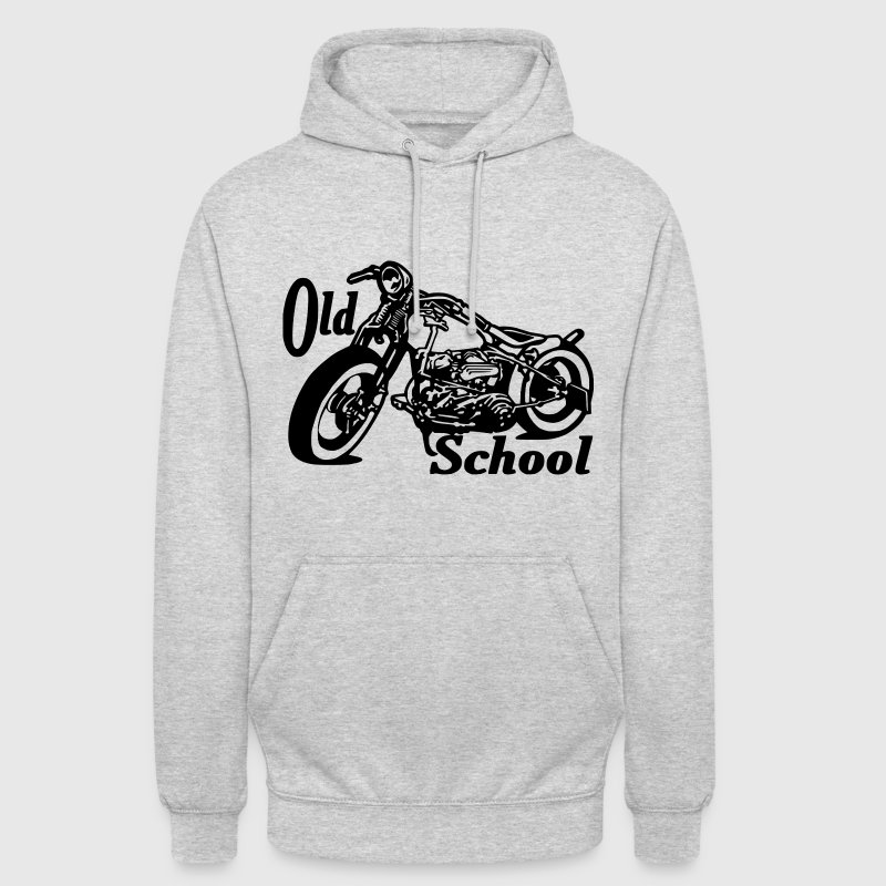 Old school sweat - Sweat-shirt à capuche unisexe