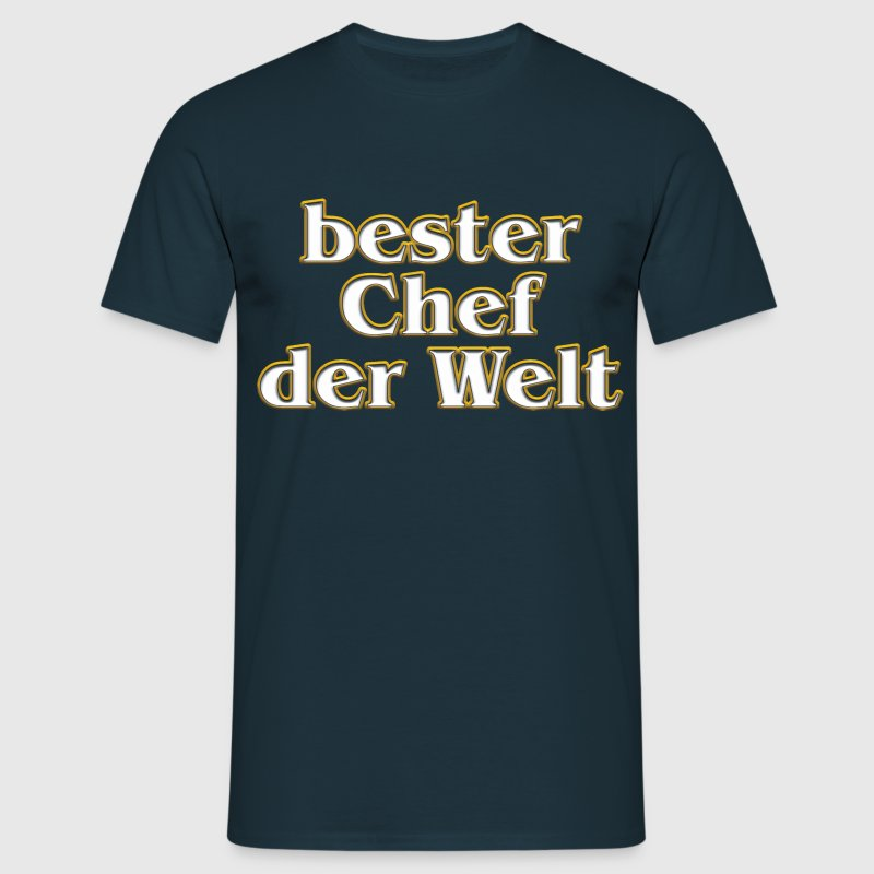 vom grafik designer bester chef der welt t shirt spreadshirt. Black Bedroom Furniture Sets. Home Design Ideas