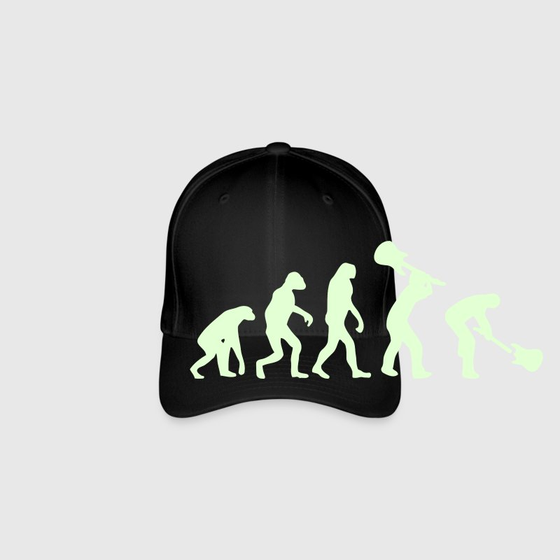 Evolution Rock - Gorra de béisbol Flexfit