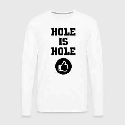 manches longues trou commander en ligne spreadshirt. Black Bedroom Furniture Sets. Home Design Ideas