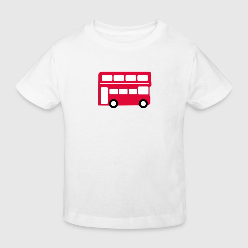 Big red bus Shirts - Kids' Organic T-shirt