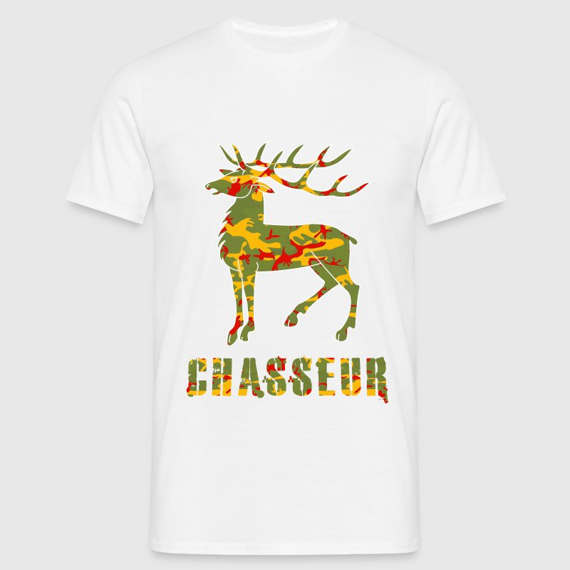 chasse camo Tee shirts - T-shirt Homme