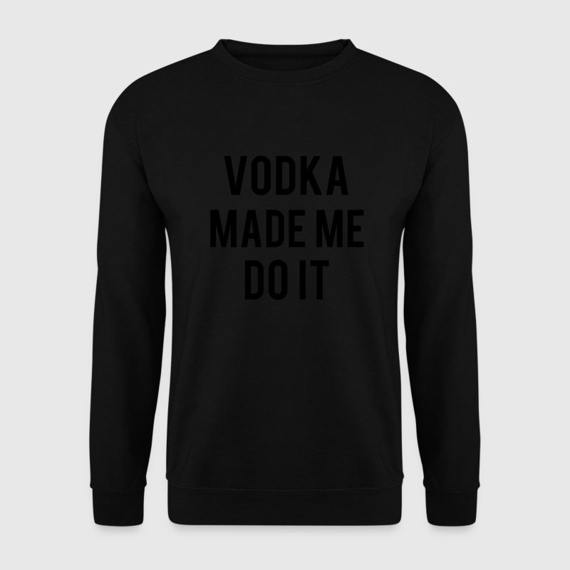 Vodka Sweat-shirts - Sweat-shirt Homme