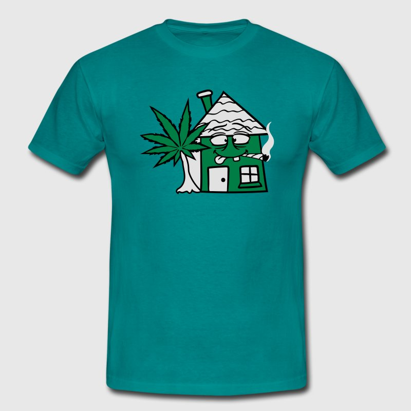 weed weed smoke cannabis joint stoned stoned grass T-Shirts - Men's T-Shirt