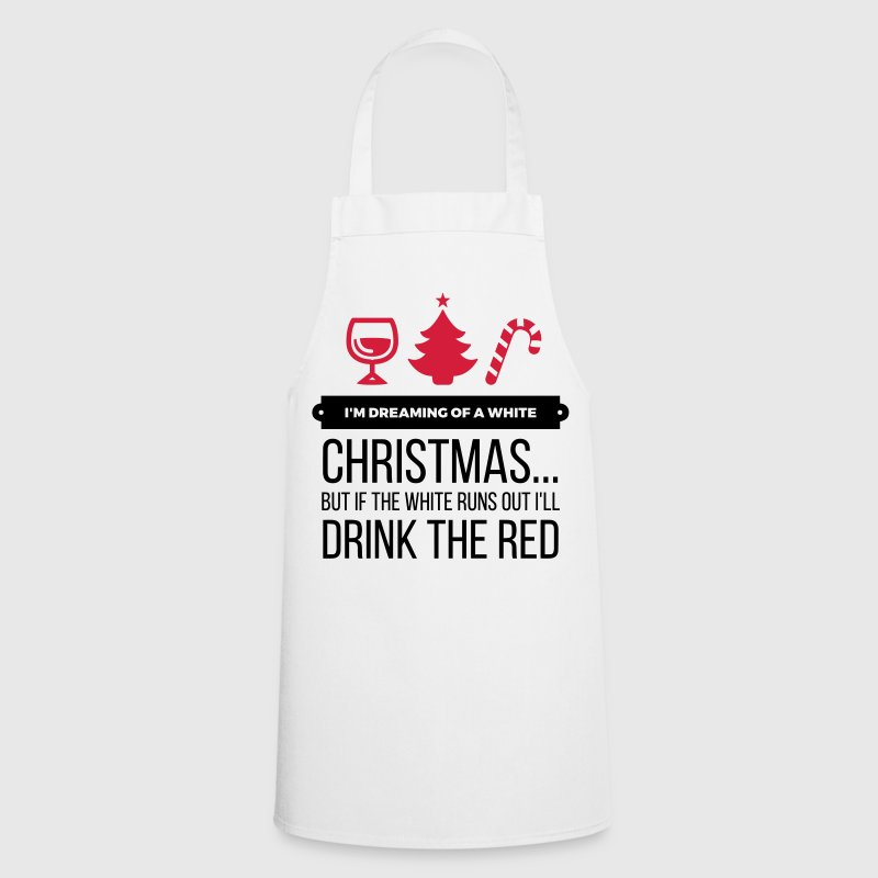 I m dreaming of a white Christmas  Aprons - Cooking Apron