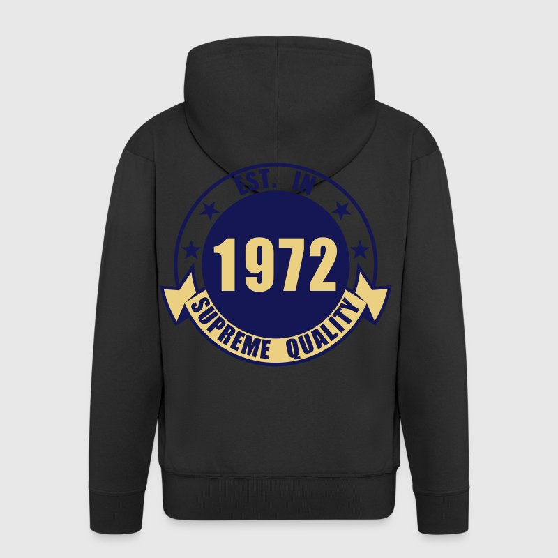 1972 Supreme Hoodies & Sweatshirts - Men's Premium Hooded Jacket