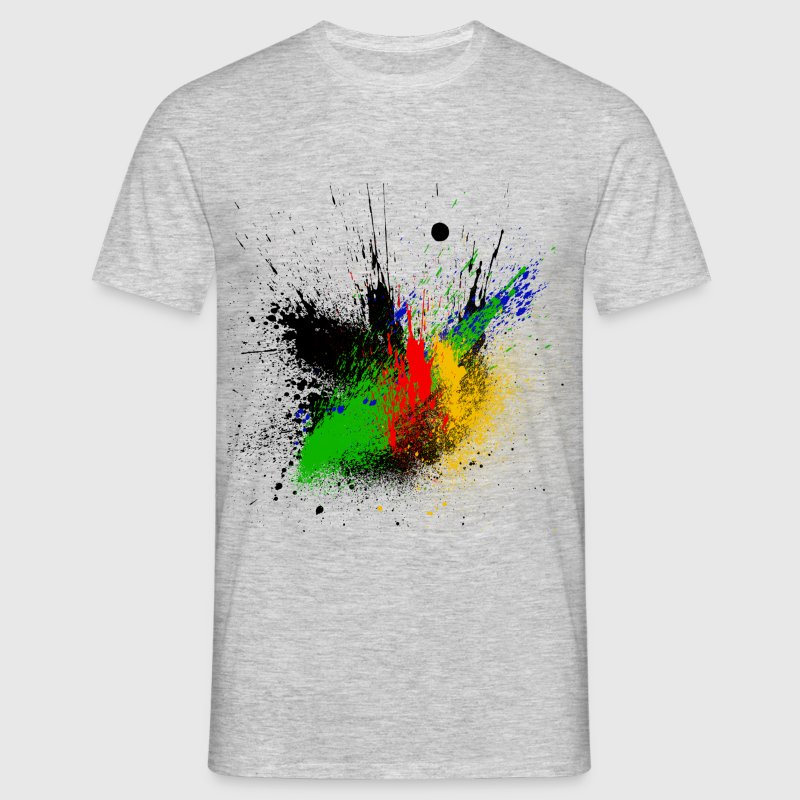 Abstrait design color Tee shirts - T-shirt Homme