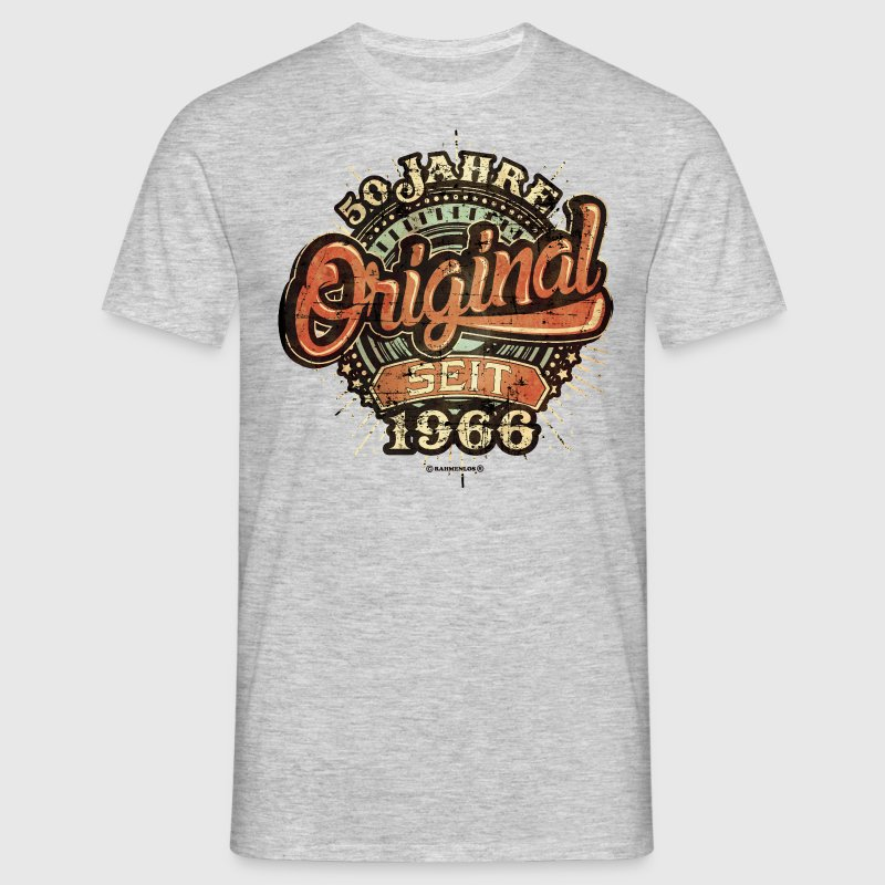 50 jahre 1966 geburtstag original rahmenlos neu 2016 used look t shirt spreadshirt. Black Bedroom Furniture Sets. Home Design Ideas
