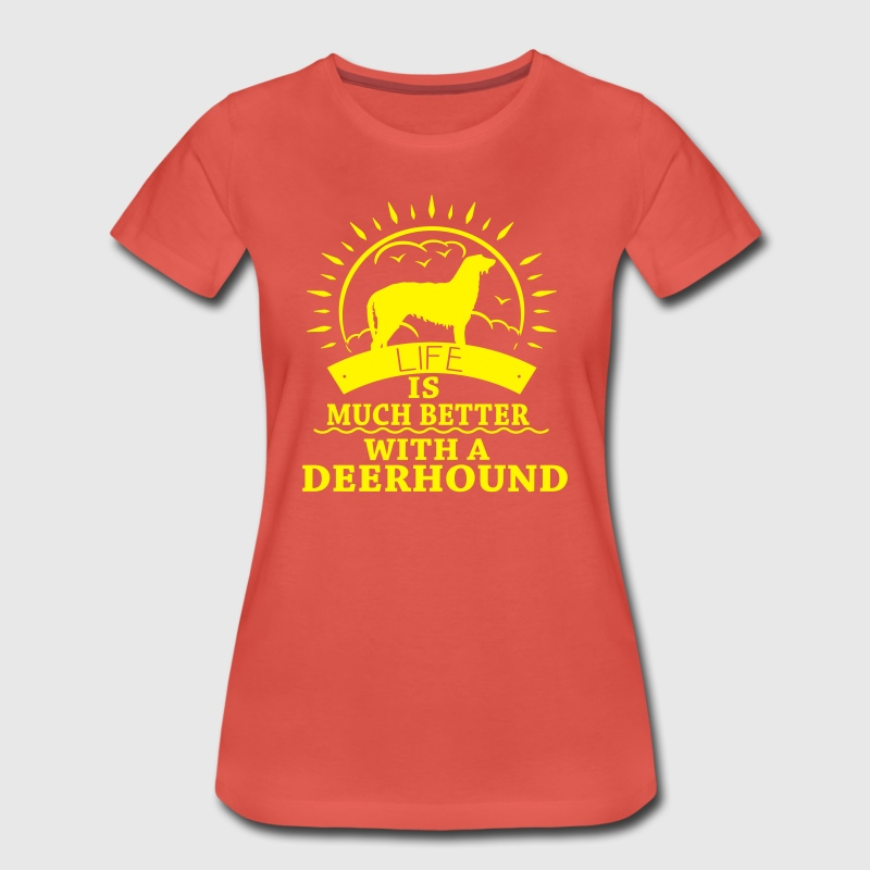 Deerhound T-Shirts - Women's Premium T-Shirt