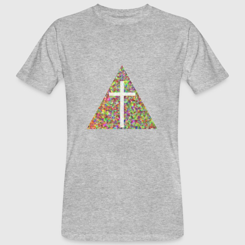 Croix Triangle Tee shirts - T-shirt bio Homme